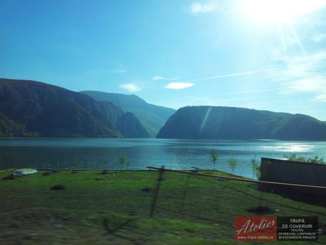 Dunărea la Porțile de Fier