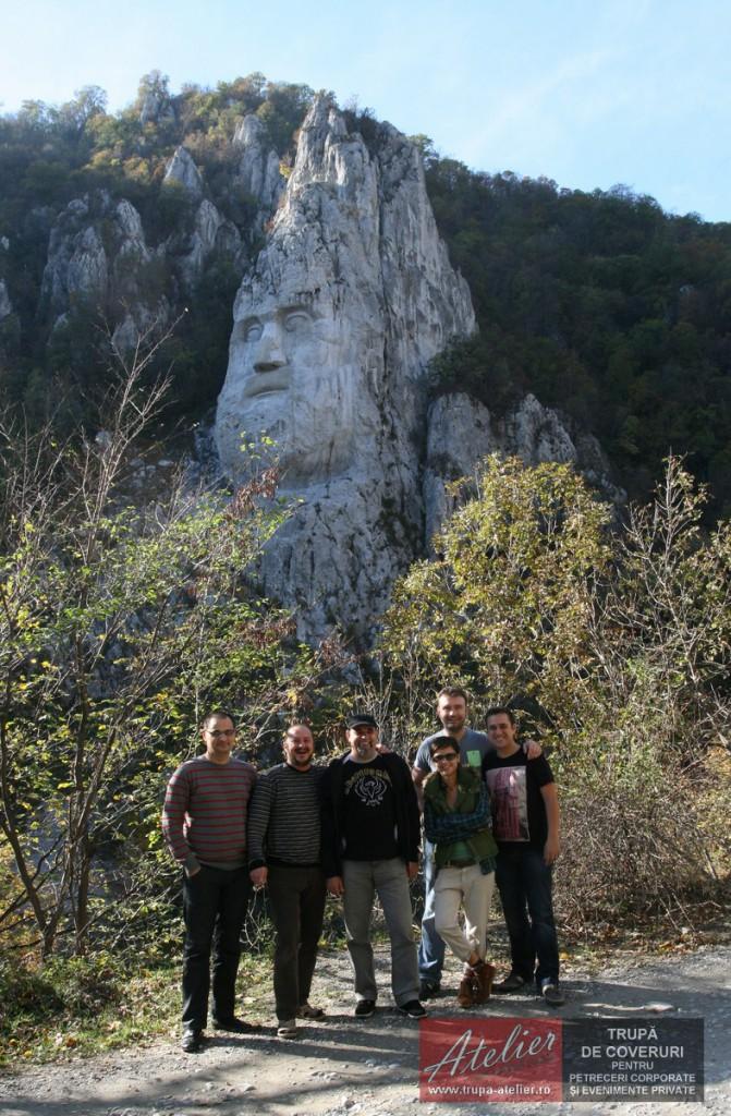 Statuia lui Decebal (Golful Mraconia)