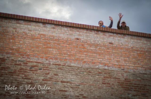 Zidurile Cetății Bastionare Alba Carolina