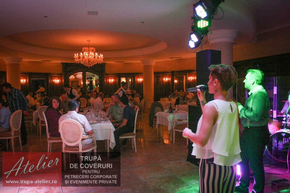 Trupa petrecere corporate Arena Regia
