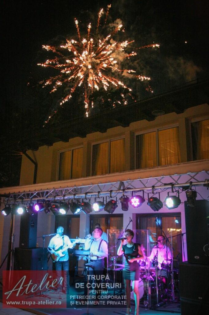 Foc artificii nunta Bucuresti Herastrau